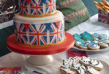 BRITISH PARTY/WEDDING THEME IDEAS