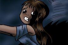 Sophia's probleem / Een psychologisch stripboek over een meisje dat misbruikt wordt. Bestellen op onderstaande link. A psychological comic book about an abused girl (in Dutch). Available at: http://www.lulu.com/us/en/shop/vincent-noot/sophias-probleem/ebook/product-17462198.html.