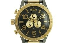 Nixon / Nixon watches are affordable timepieces that tell a story along with the time. They describe the wearer without words and that's what makes Nixon watches so popular. Nixon projects an attitude that expresses freedom and free style everything, which includes how a timepiece should be worn regardless of the time. Nixon watches compliment a bathing suit as well as a suit.