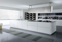 """U Shaped Modular Kitchen Designs in    Delhi / Justvud Kitchens & Interiors are one of the prominent manufacturers and suppliers of modular kitchens, interior design and kitchen appliances accessories."""" / by Sonu mishra"""