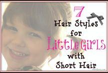 Em & Lij hair / by Nanette Shepherd