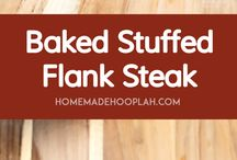 Stuffed steak