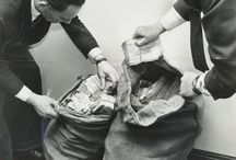 the great train robbery. / In the early hours of 8 August 1963 a London-bound mail train was forcibly stopped at a remote bridge in Buckinghamshire. What happened next went down in history as The Great Train Robbery.