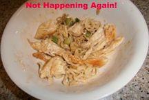 Recipes I did not like