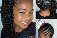 Natural kids hair