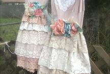 Vintage, shabby / Staré, jemné, krajkové, romantické