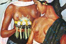 Indonesian Art (2) Bonnet / Paintings by Rudolf Bonnet