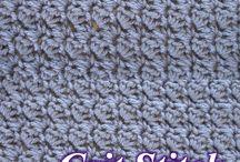 Crochet - technique and stitches