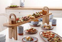 Celebrating/Table serving