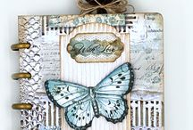 Eileen Hull Designs by Sizzix Design Team Projects / DIY minis, journals, books, Sizzix dies