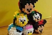Hama beads 3D ❤️ / Aquí podrás encontrar ideas ¡en 3D! ❤️