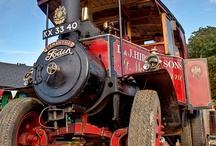 TRACTORS & STEAM ENGINES / by J.M. JOHNS