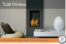 Vision Trimline Trimless Gas Fires / Our innovative fires are skilfully engineered to allow a true trimless aspect. This means no distracting frames or visible mechanical workings – just fire.