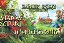 XXVIII Festiwal Kwiatów i Sztuki w zamku Książ