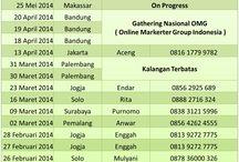JADWAL WORKSHOP, SEMINAR INTERNET MARKETING BERSAMA DOSEN JUALAN / Tersaji Jadwal Pelatihan dari Dosen Jualan Selama Tahun 2014  Bisa diakses disini http://www.dosenjualan.com/2014/01/jadwal-pelatihan-privat-workshop.html