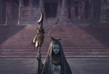 Myriade - L'univers / L'univers de Myriade, roman de dark fantasy