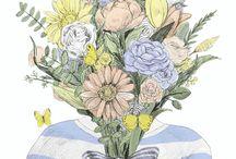 Иллюстрации Цветок