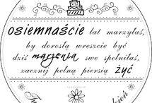 życzenia, sentencje, listy, napisy