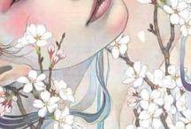 японский портрет