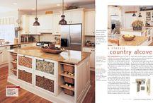 Country Alcove Kitchen | Lafayette Hill PA / Country Alcove Kitchen | Lafayette Hill PA