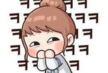 Chibi sticker kpop