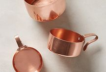 Miedź w domu (Copper in the home) / Cu in interior design, homes, etc..