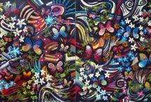 Dan Civa Abstract Artwork / Abstrakte malerier i olie og acryl på lærred og plade