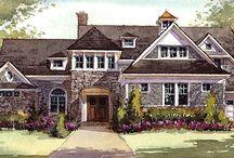 """""""Hampton Manor"""" -RSOL Designer House / The 2014 RSOL Designer House, """"The Hampton Manor,"""" built by Bel Arbor Builders."""