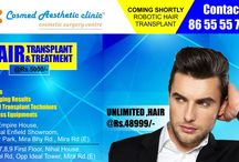 Best Hair Transplant clinic / Now a day hair loss is occuring in early age groups, 70% of hair loss patients belongs to 20 to 30 Years. This makes best hair transplant in Mumbai the need of the time. We, at Cosmed Clinic, are renowned for offering one of the cheapest hair transplant in Mumbai.