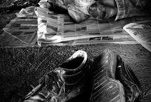 Stara fotografia dokumentalna / Stare fotografie dokumentujące jakieś wielkie wydarzenia albo wielkie przeżycia.