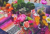 mexico table deco