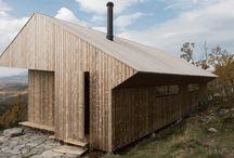 Arkitektur hytter