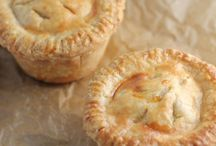 Pies - Savoury and their associated Pastry / All pies which are Savoury