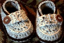 Crochet - Baby And Kids Shoes 6 ! -Free / Baby And Kids Shoes 5 - Free ! / by Judith Keyzer