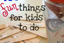 Kindergarten - things to do