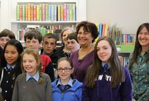 Ana Maria Macahdo in Ireland / Author of our book, The History Mystery, visits Ireland