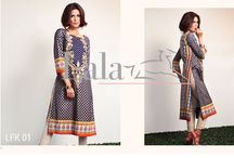 LA Femme Embroidered Kurti Collection