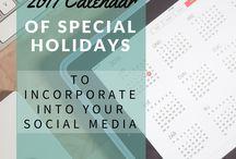 Calendar of Special Days