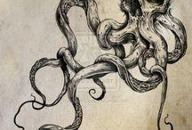 Misztikus lény rajzok