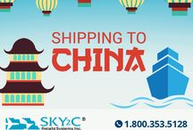 Shipping to/from China / by Sky2c Freight Systems