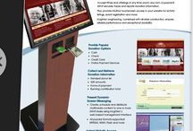 Donation Kiosks / Donation or Giving or Charity terminals