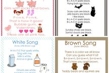 Preschool - Color Theme / Preschool