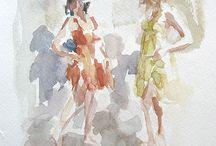 watercolors / by Fran Ginn