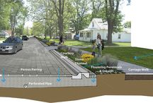 Town of Hudson Infrastructure / Ideas that could shape the landscape of a small town in Quebec.