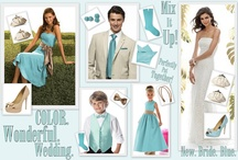 Bridal Party / Bridal Party Boards to help inspire you! Color, texture and vision.