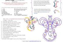 Aniołki wzory