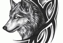 Patterns: wolfs - Minták: farkasok