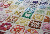 Quilt blocks and block of month quilts / Quilt block of month