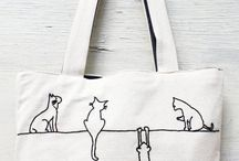 Embroidered Kittens / Curated by http://shelovescutenl.blogspot.nl/