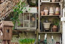 potting sheds & green houses / <3